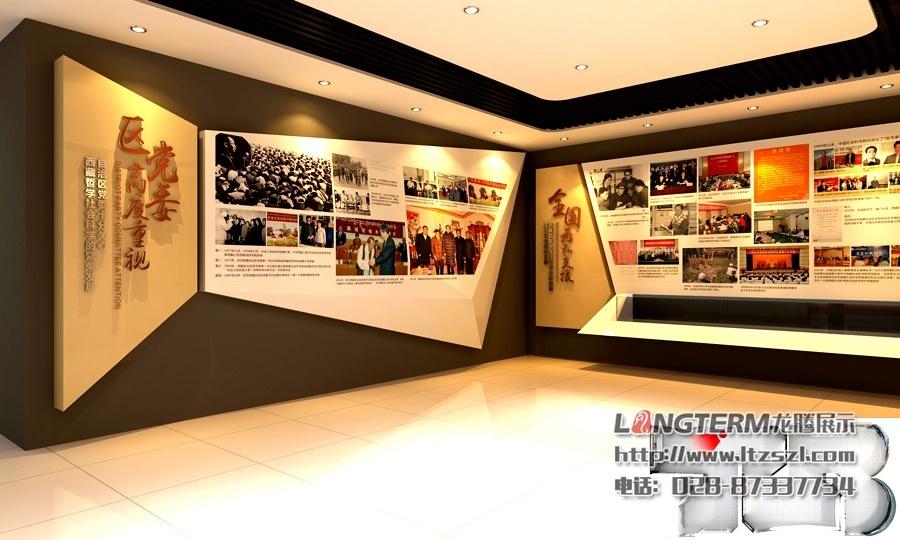 文化展厅的时候,应该有理性的认识和准确的定位,从设计风格和材料工艺